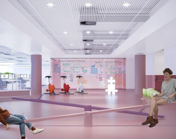 Innovation Centre BOORTMALT Belgium – First and Second Floor