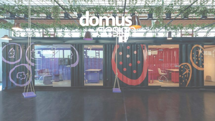 Featured Image Frutti Offices Featured on Domus Design