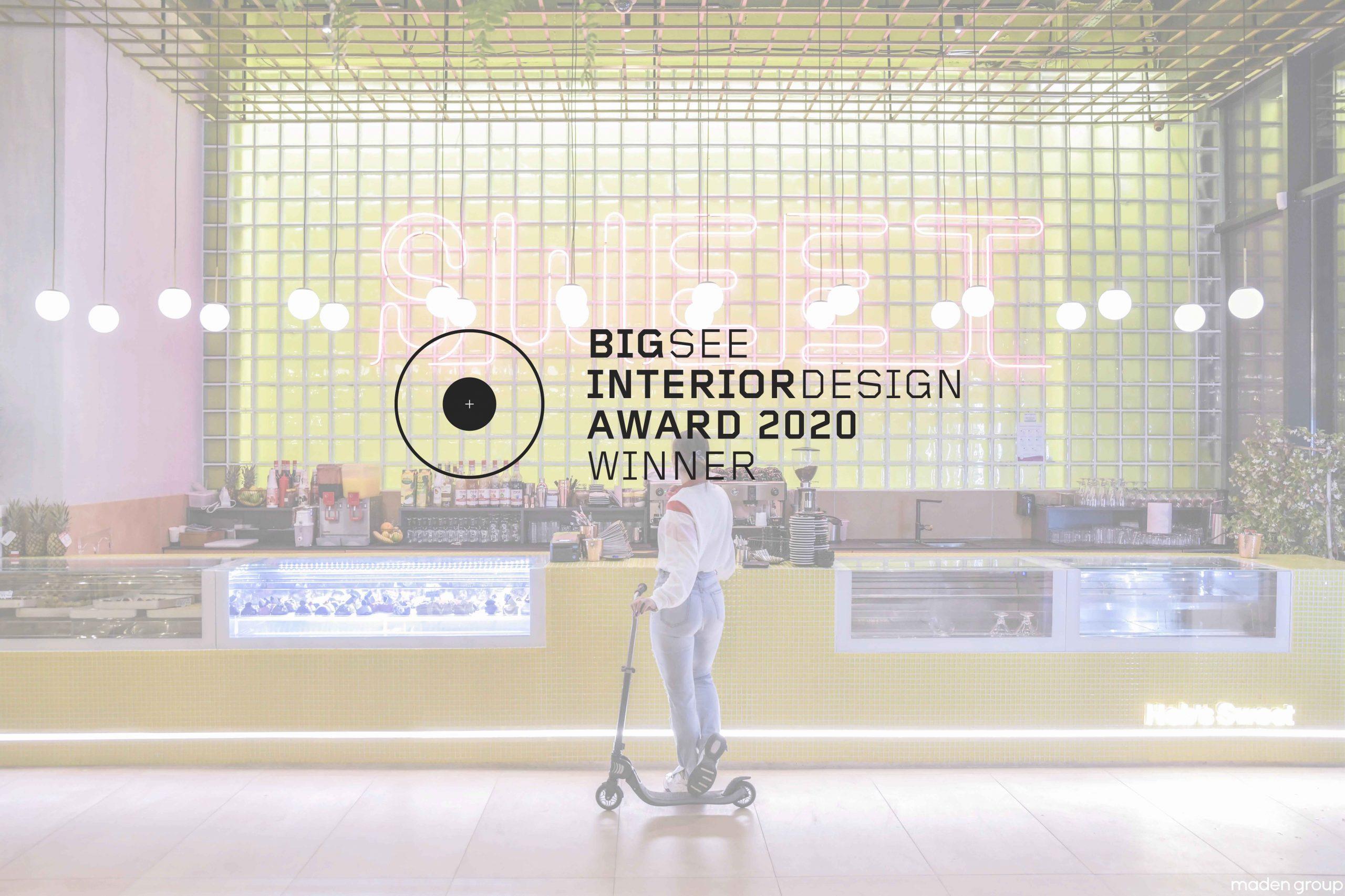 HEB'S Winner at BIG SEE Interior Design 2020