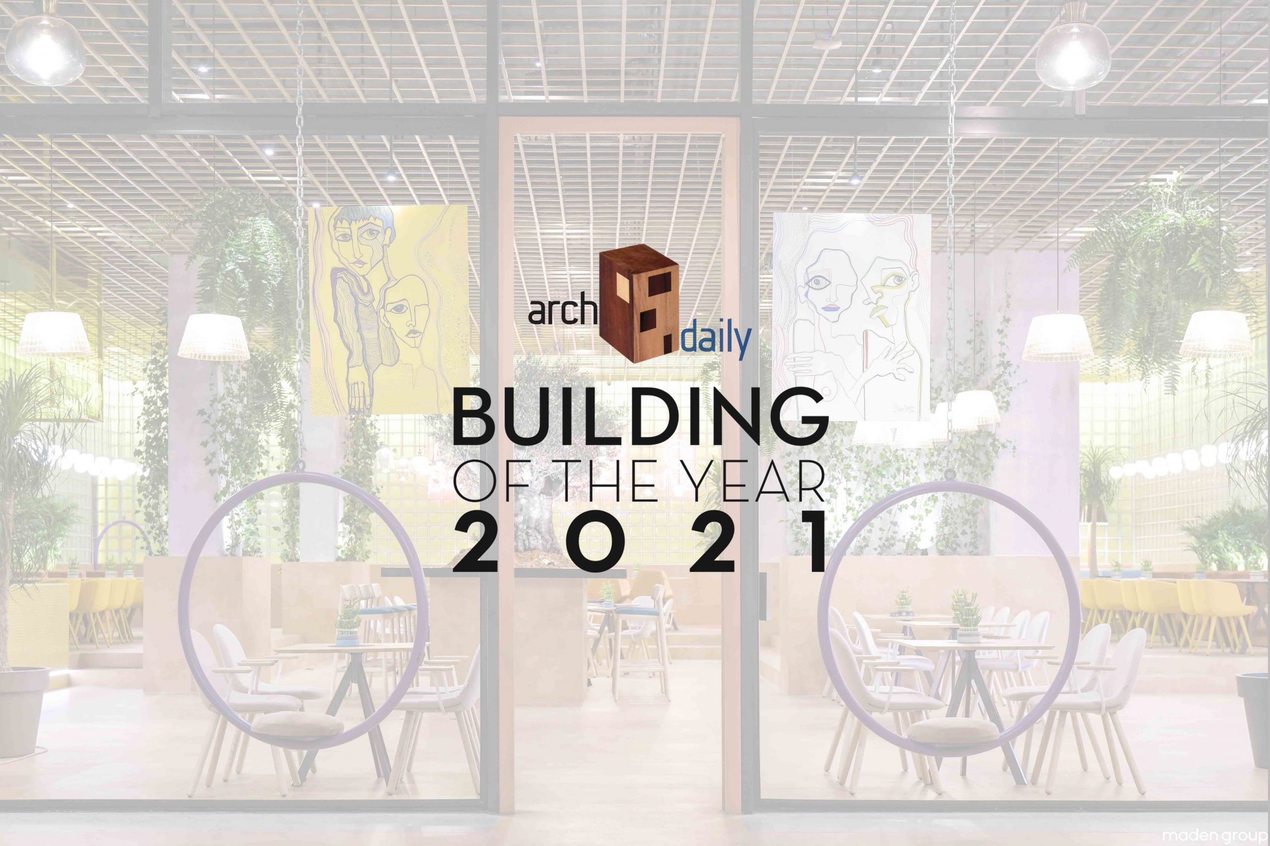 """HEB'S """"Building of the Year 2021"""" by Archdaily !"""