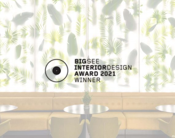 Trianglo Lounge Bar Winner at BigSEE Interior Design Award 2021