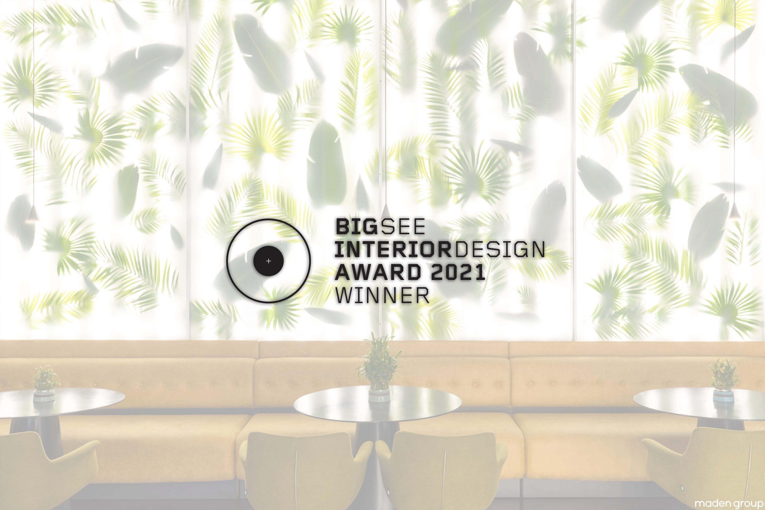 Trianglo Lounge Bar Winner at BigSEE Interior Design Award 2021