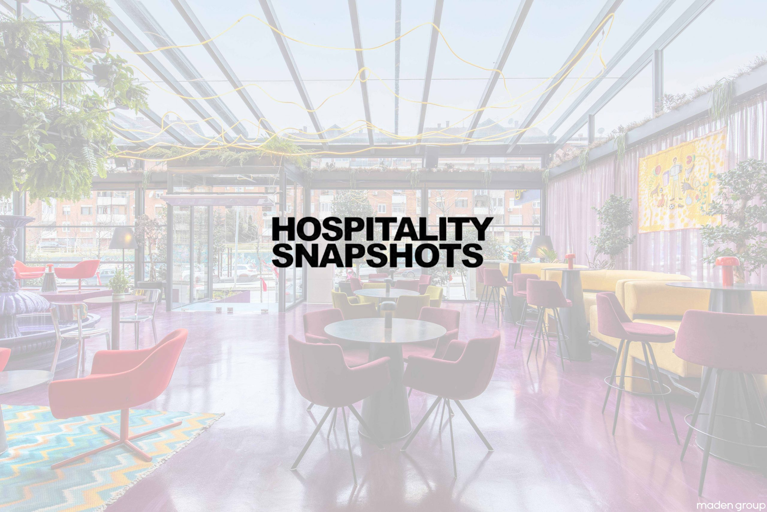 TRIANGLO Lounge Bar has been featured on Hospitality Snapshots